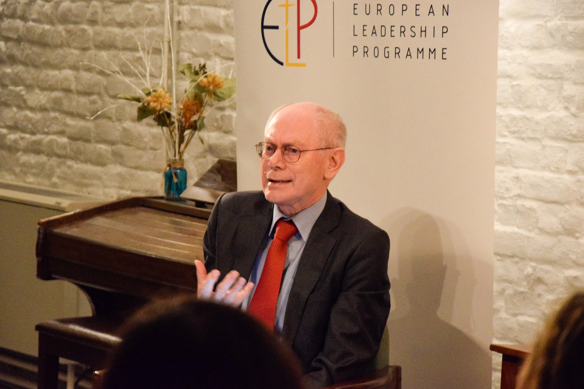 Herman van Rompuy at ELP