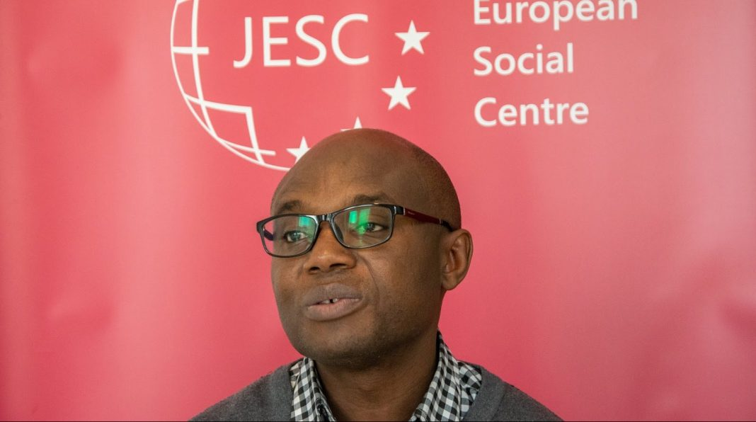 Charlie Chilufya at JESC